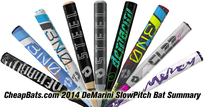 2014 DeMarini Slowpitch Bats Banner